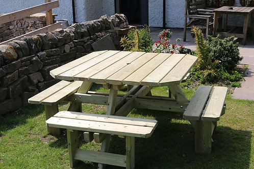 Chatsworth 8 Seater Picnic Table