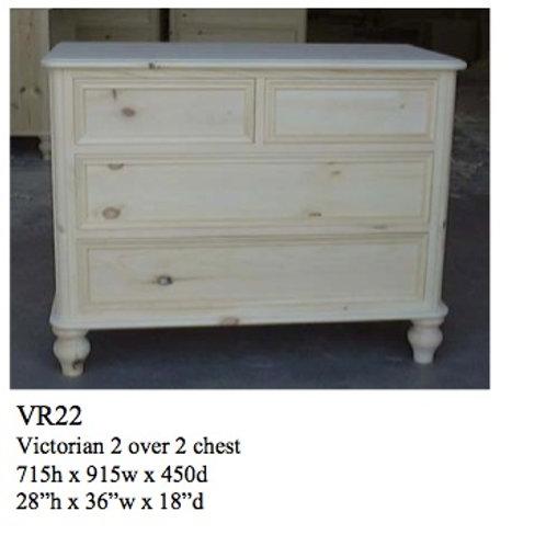 2/2 Standard Victorian Chest
