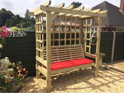 Chatsworth 3 Seater Arbour