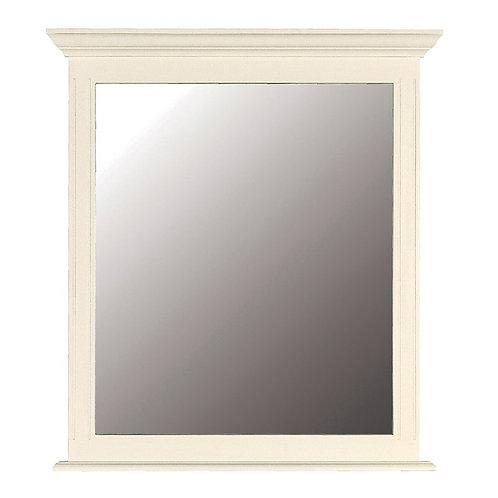 Cream Fayance Mirror