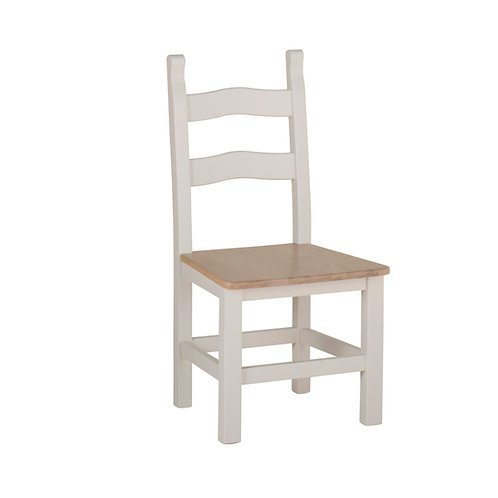 Amish Chair Oak solid seat