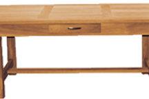 Oiled Oak Table Ext/d H770 L1800 ext 2800 W900