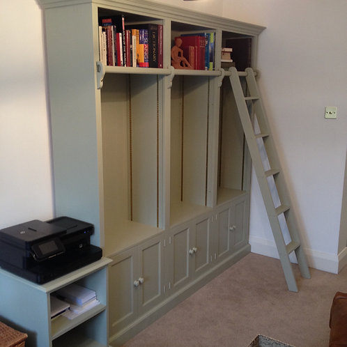 Made to Measure Library Bookcase