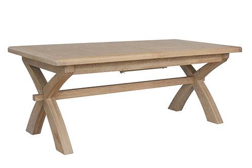 Hovingham  Oak 2m Cross Leg Table