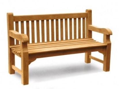 5ft Teak Park Bench