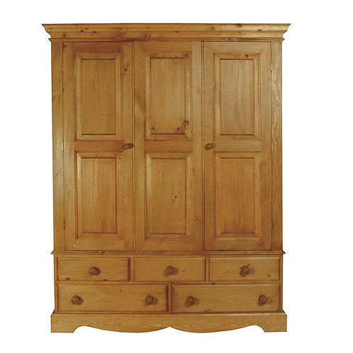 Triple Edwardian Wardrobe