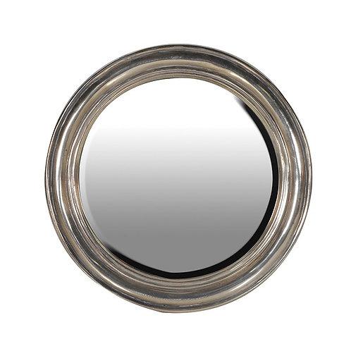 Distressed Gold Round Mirror Dia650