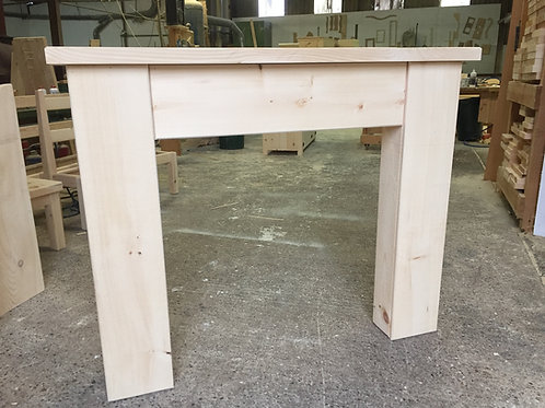 Unfinished Rustic Fire Surround