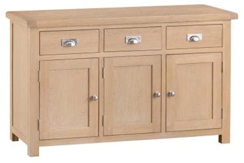 London Oak £ Drawer 3 Droor Sideboard
