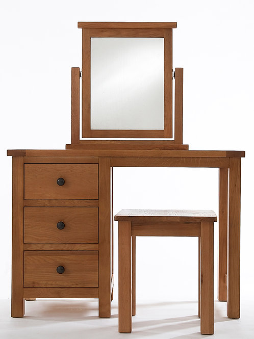 Dressing Table + Wooden Seat