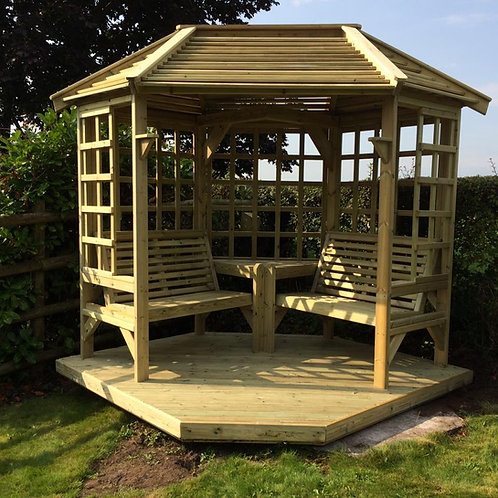 Chatsworth 4 Seater Arbour