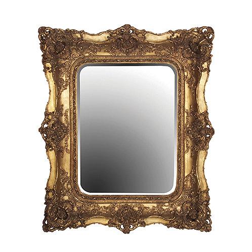 Gilt Swept Mirror