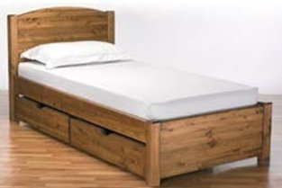 3ft Rustic Bed      Bed boxes add  £99