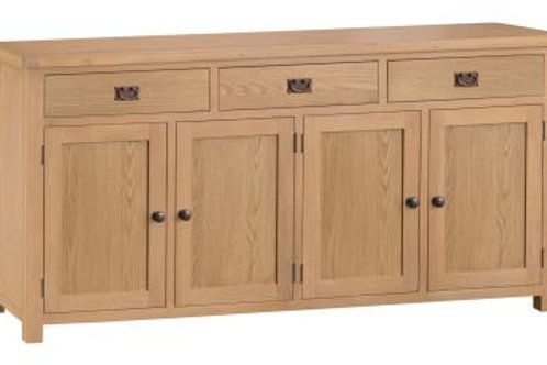 3 Drawer 4 Door Sideboard