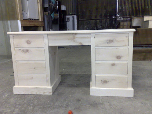 Twin Pedistal Desk