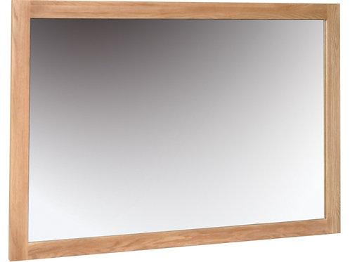 Oak Wall Mirror 1300 x 900