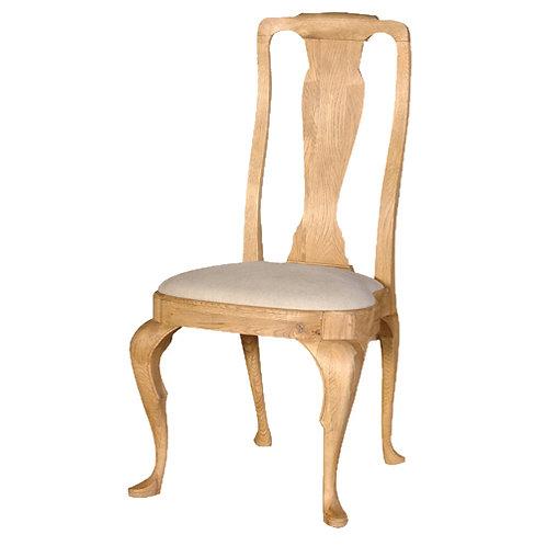 Limoges Oak Queen Ann Side Chair