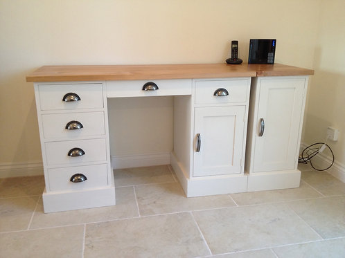 Desk and Side Cupboard to match customers kitchen. POA
