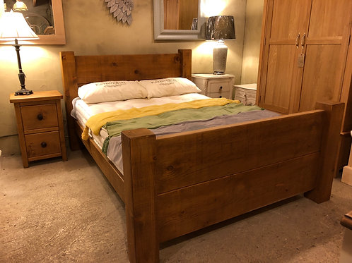 Rustic Bed 3ft, 4ft 6ins, 5ft, 6ft, 7ft, 8ft.POA