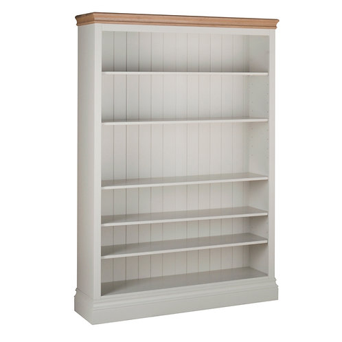 6ft Wide Bookcase x  52.5 ins Wide