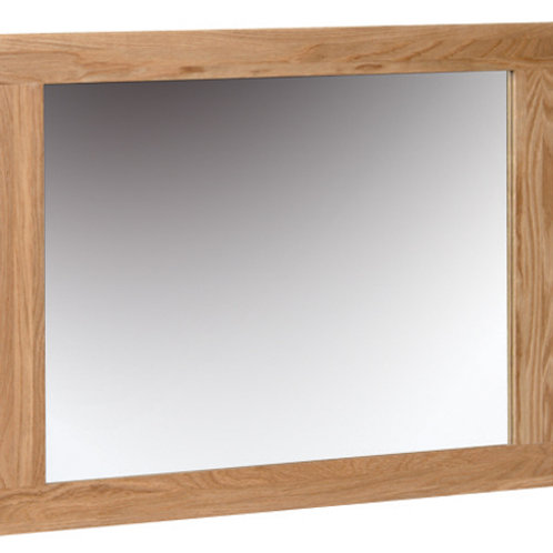 Oak Wall Mirror 750 x600