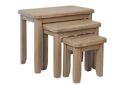Hovingham Oak Nest of Tables