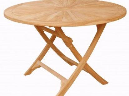 1200mm Teak Folding Table