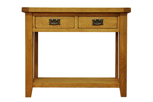 2 Drawer Console Table 100W 35D 78H