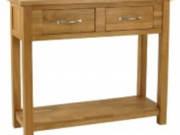 Two Drawer Consul Table