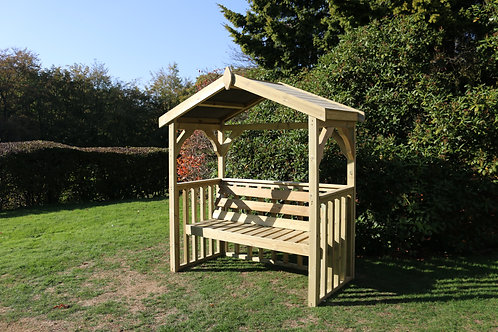 The Anna 3 Seater Chatsworth Arbour