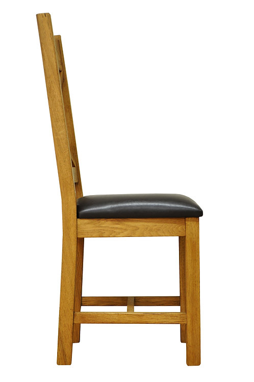 Ladder Back Chair with padded seat