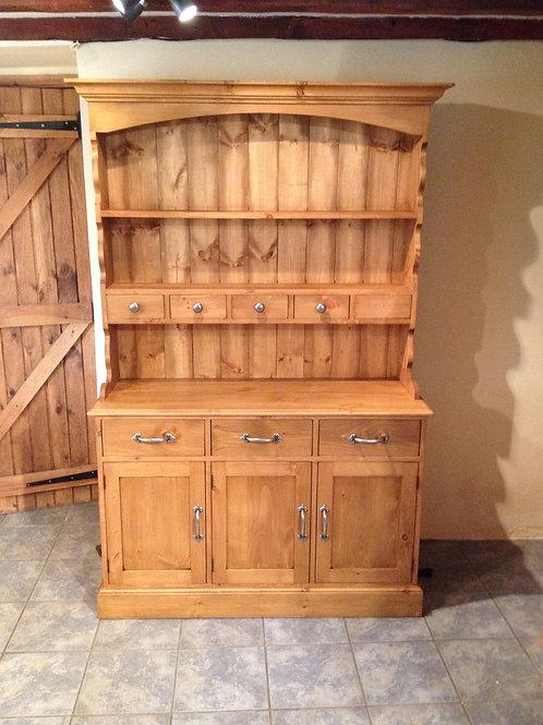5ft Rustic Open Dresser