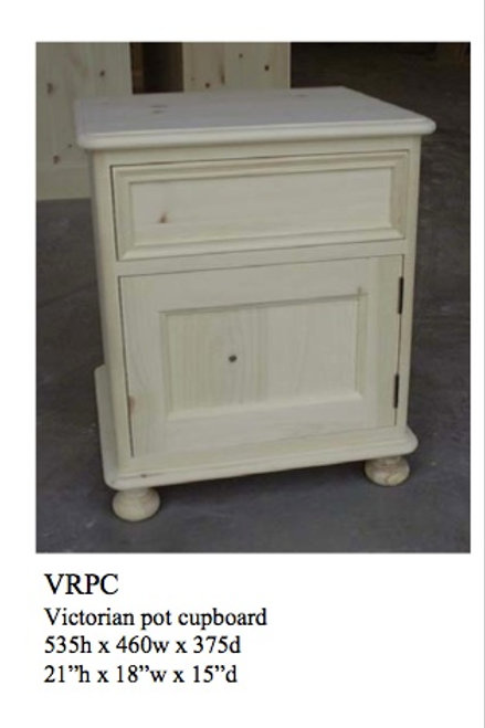 Small Victorian Pine Bedside