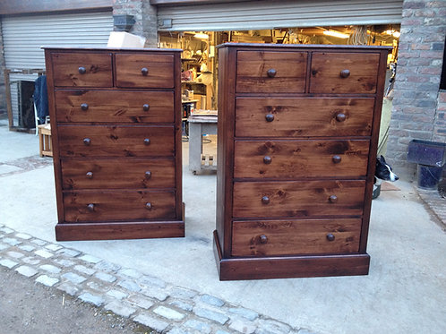 Extra Large Chest Finished in Antique Mahogany