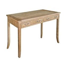 Weathered Oak Writing Desk