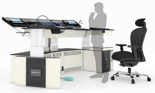 """אופליס גלובל פתרונות לחדרי בקרה, שולחנות ממונעים לחדרי בקרה, חמ""""לים, חפ""""קים, מגדלי פיקוח ובקרה אווירית"""