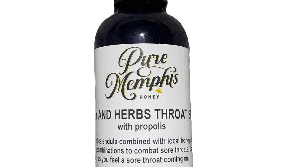 Honey and Herbs Throat Spray