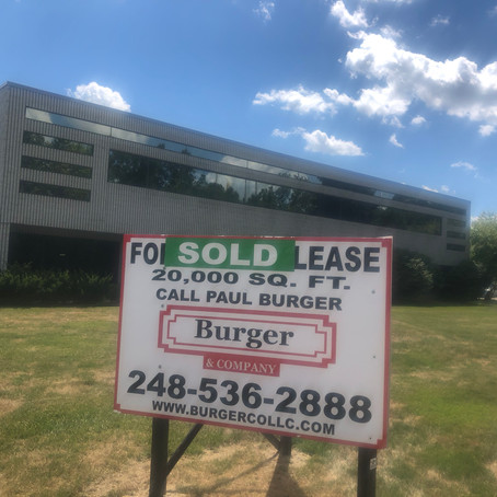 Burger & Company announces 20,000 sq. ft. industrial sold
