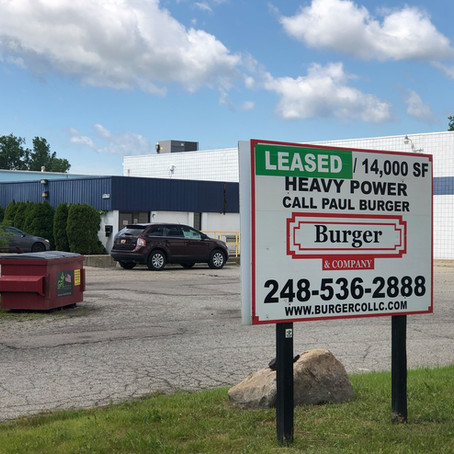 Burger and Company announces 14,000 sq ft industrial leased