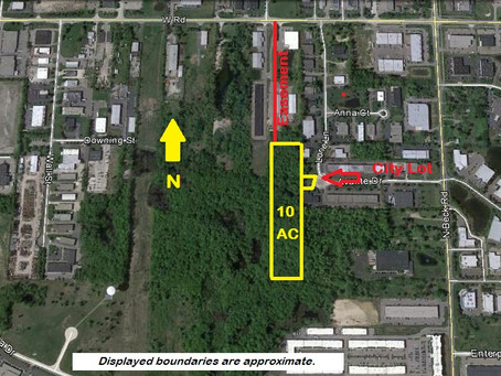 Burger & Company announces 10 acres industrial land sold
