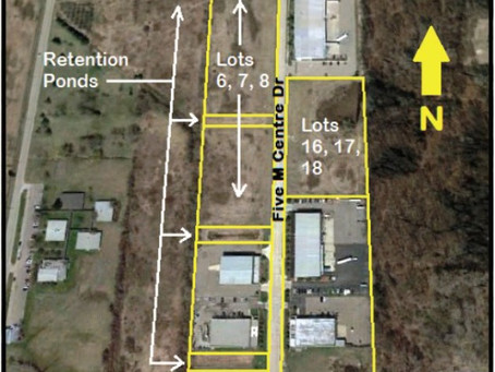 Burger & Company announces 76,790 sq. ft. of industrial buildings on 26 acres of land sold