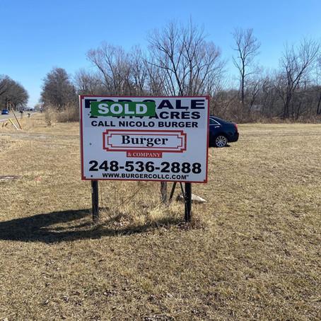 Burger & Company announces 4.14 acre industrial land sold
