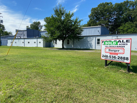 Burger & Company announces 14,195 sq. ft. industrial sold