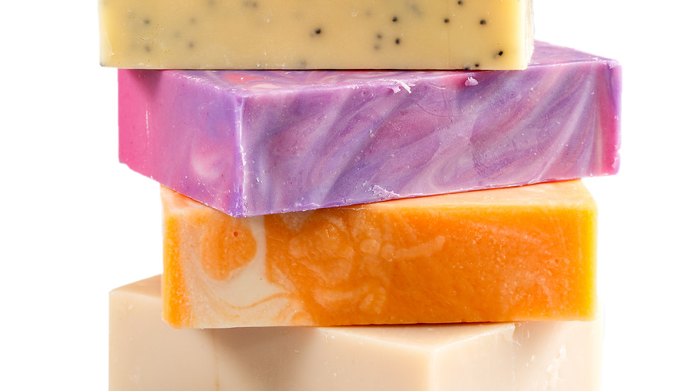 Olive Oil Bars with Essential Oils