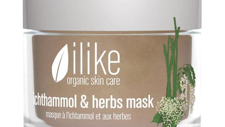 Ilike Ichthammol & Herbs Mask