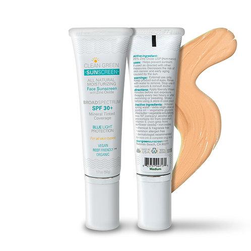 Clean Green Sunscreen - Medium - 1.7oz