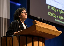 Susan Solomon speaking at MIT symposium on climate change