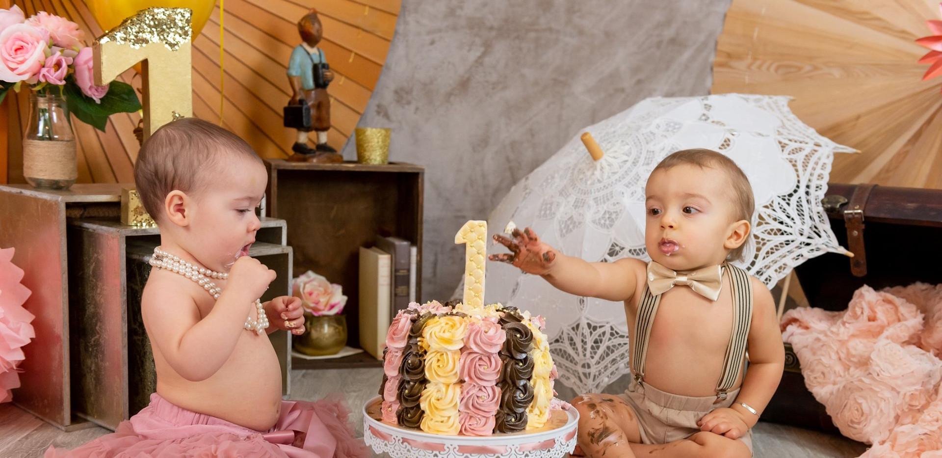 smash the cake photographe greasque