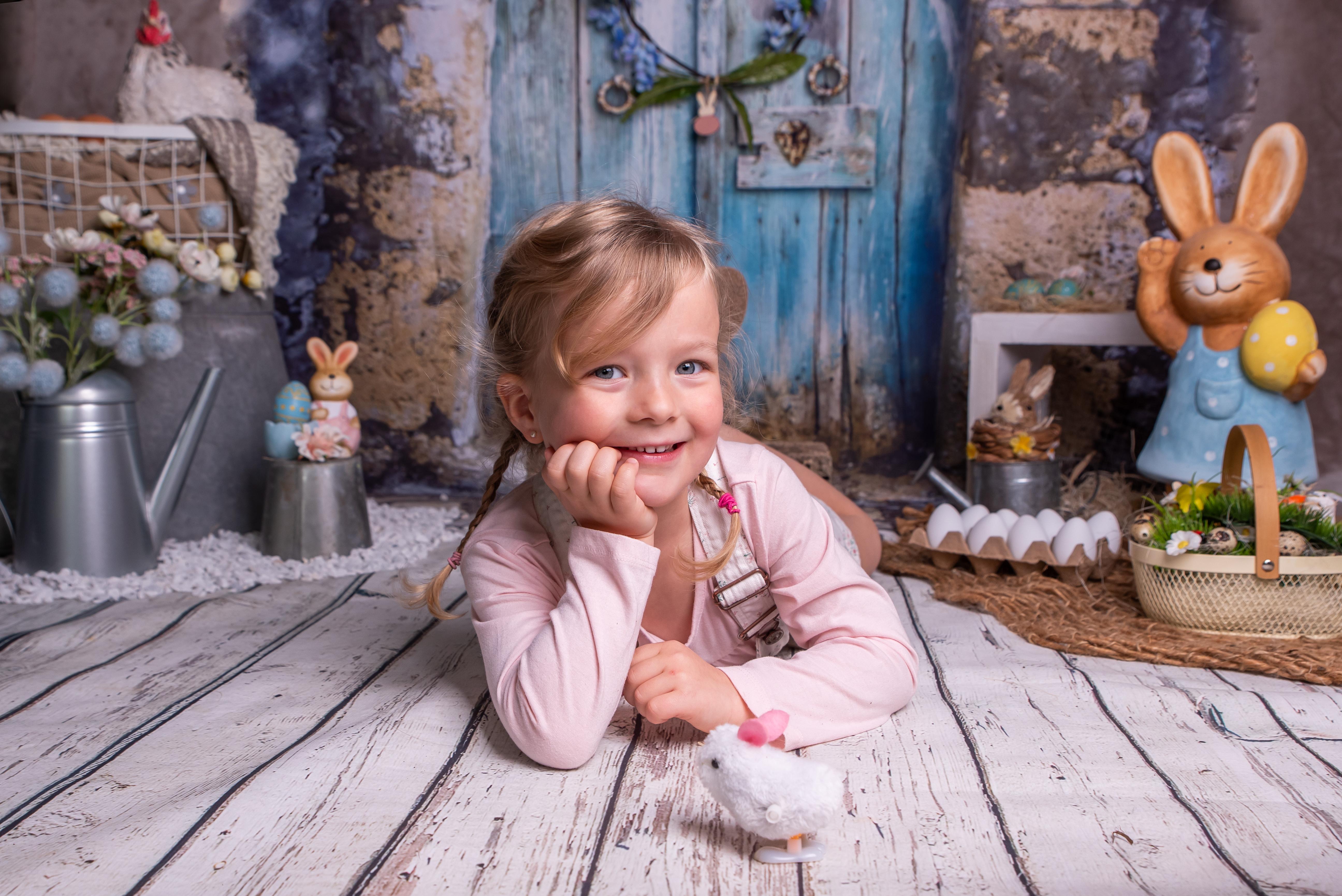 pâques mini séance photo enfant
