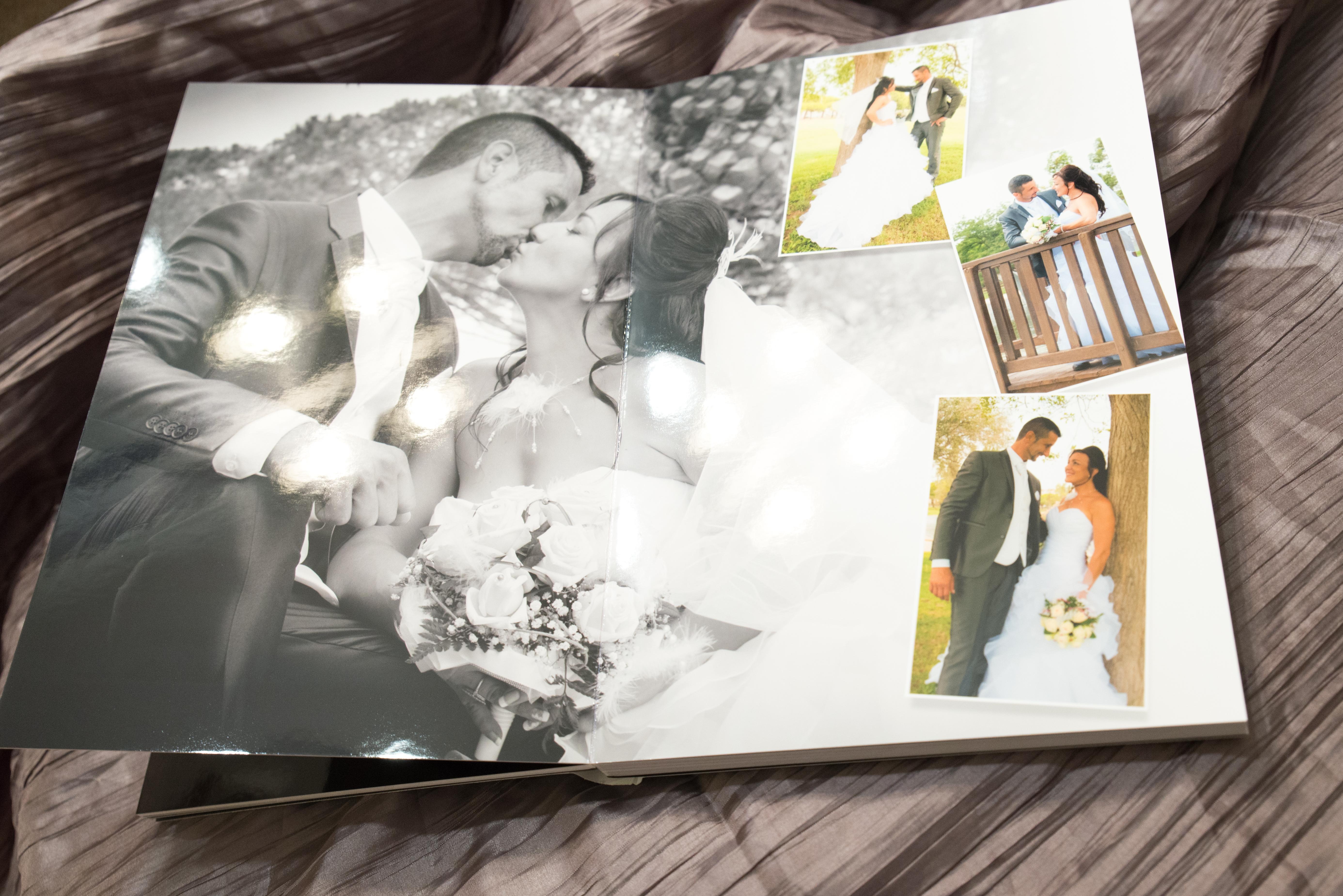 album mariage Créatrice 20x30